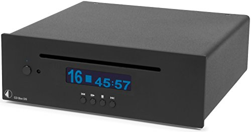 Pro-Ject 13128 - Reproductor de CD (24 bit, 192 KHz), Negro