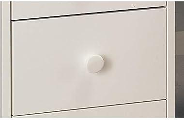 ACTUAL DIFFUSION Windsor Grand Blanc de Style Anglais 'Bureau du Notaire', pin, 58,3x137,5x99 cm
