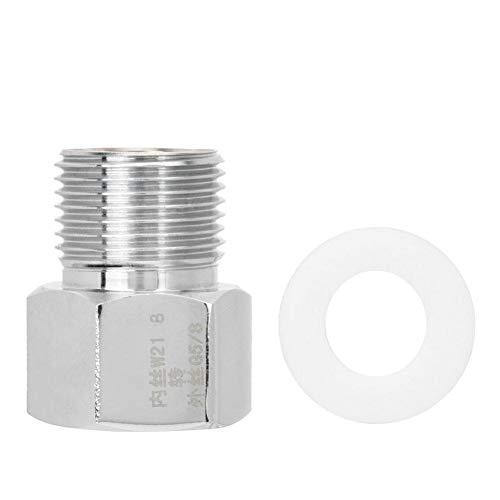 Pssopp Adaptador de regulador de CO2 para Acuario Adaptador para Tanque de Peces Cilindro de CO2 Convertidor para Equipo de Acuario con Junta(#1)
