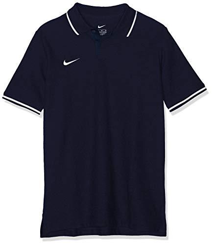 Nike Kinder Y TM CLUB19 SS Polo Shirt, Blau (Obsidian/White/451), Gr. M