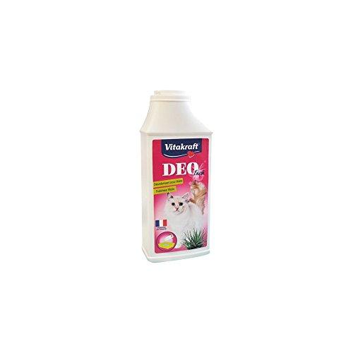 Vitakraft Désodorisant pour litière fraîcheur chèvrefeuille, Deo fresh - Le flacon de 375g
