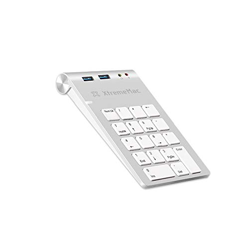Xtrememac Teclado XM-NPHUB32-AU-SLV