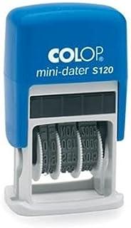 Colop S120 Date Stamper - 4 Mm