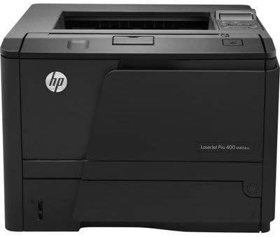 Renewed HP LaserJet Pro 400 M401DNE M401 CF399A#BGJ Printer with New 80A Toner and 90/Day Warranty