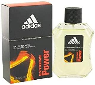 Adidas Extreme Power Eau de Toilette Spray, 3.4 Ounce