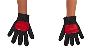 Power Rangers Ninja Steel Toddler Gloves Red One Size