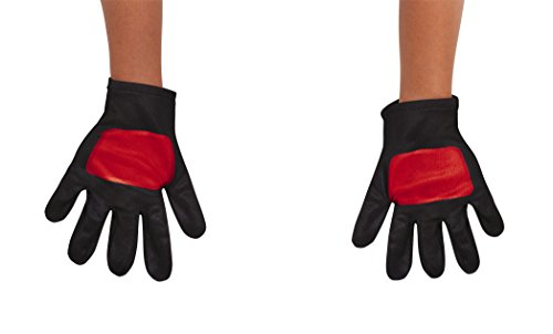 Power Rangers Ninja Steel Toddler Gloves, Red, One Size