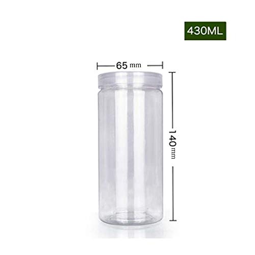 Jezus houdt van je Plastic Fles Sub-fles Transparant Cap Huisdier Voedsel Grade Koekje Plastic Verpakking Fles Snack Honing Snoep Verzegelde Potje 50 stks