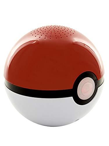 TEKNOFUN Poke Ball Pokemon Haut-Parleur sans Fil Rouge/Blanc 811365
