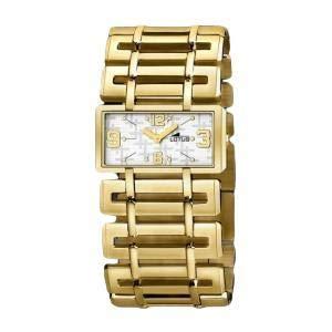 LOTUS Reloj Pulsera Mujer Cuarzo Correo Acero PVD Sumergible 30MT Nuevo 15435/3