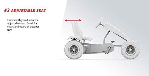 BERG Kettcar Black Edition BFR Special Gokart - 5