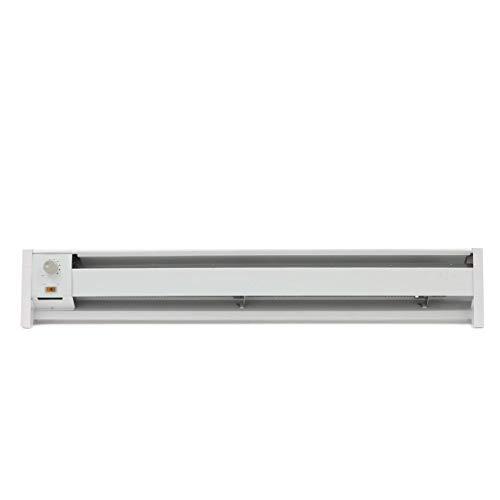 Fahrenheat FBE15002 Portable Electric Hydronic Baseboard Heater,1500 Watt, 120 Volt, White