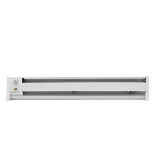 Fahrenheat FBE15002 Portable Electric Hydronic Baseboard Heater,1500 Watt, 120 Volt, White
