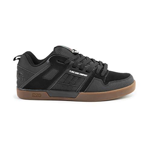 Scarpe Skateboard DVS Comanche 2.0+ Black Reflective Gum Nubuck 42 1/2