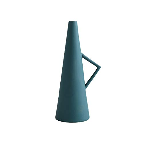 Keramische vaas Ambachten, Water Plant Office Home Personality Innovative Decoration kan worden geplaatst In The Living Room Office, Wedding (Color : Green)