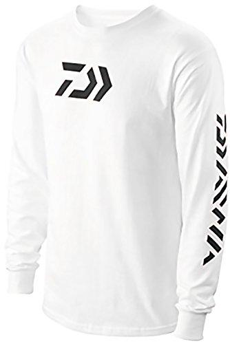 Daiwa Vector Print Long Sleeve T-Shirt White, X-Large - 64052204