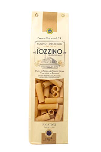 Pastificio F.lli Iozzino - Pasta di Gragnano IGP - Rigatoni 3Kg (6x500gr)