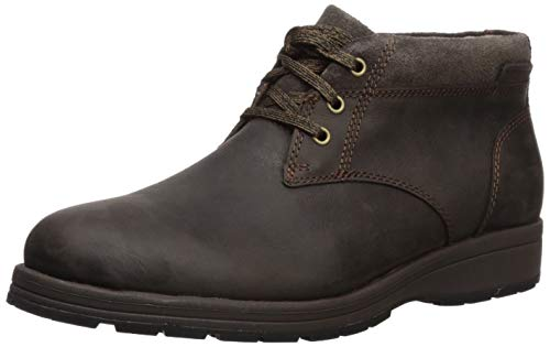 Hush Puppies Men's Beauceron Short ICE+ Ankle Boot, Dark Brown wp Leather, 7 M US