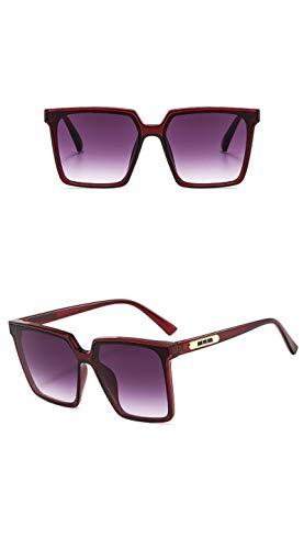 Moda Gafas De Sol Cuadradas De Gran Tamaño para Mujer, Gafas De Sol Vintage para Hombre, Gafas De Moda para Mujer, Diseñador De Lujo, Caliente 6