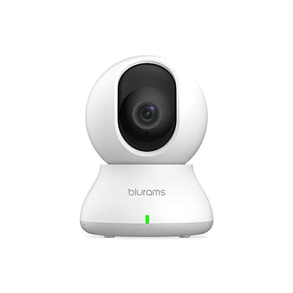 Security Camera 2K, blurams WiFi Camera Nanny Cam Pet Camera w/ Two-Way Audio, Sound/Person...