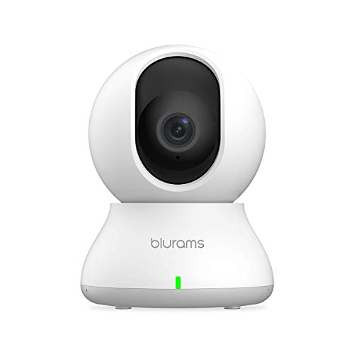 blurams Indoor Security Camera PTZ 1080p, WiFi Dome Camera Pet/Nanny Camera Baby Monitor w/ Two-Way...
