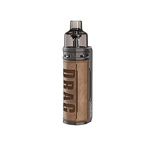 VOOPOO Drag X 80W 4.5ML Kit Cigarettes électroniques Kit de démarrage - Pas de batterie, sans e liquide, sans nicotine (Retro)