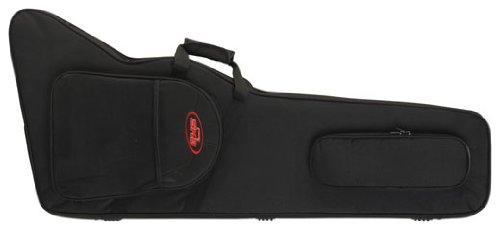 SKB 1SKB-SC63 Explorer Firebird Gitarren weicher Transportkoffer mit EPS Schaumstoff, Rückengurte