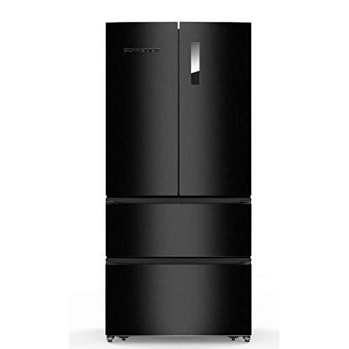Réfrigérateur américain Schneider SCFD536NFB - Réfrigérateur 4 portes - 536 litres - Réfrigerateur/congel : No Frost / No Frost - Dégivrage automatique - Noir - Classe A+ / Pose libre