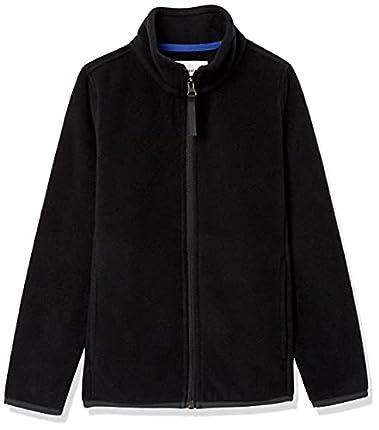 Amazon Essentials Fleece-Outerwear-Jackets, Negro, S