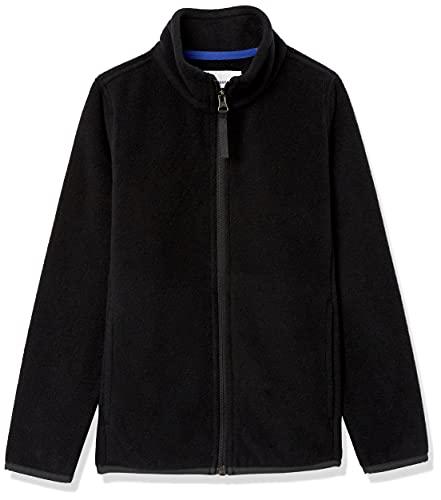 Amazon Essentials fleece-outerwear-jackets, schwarz, Small