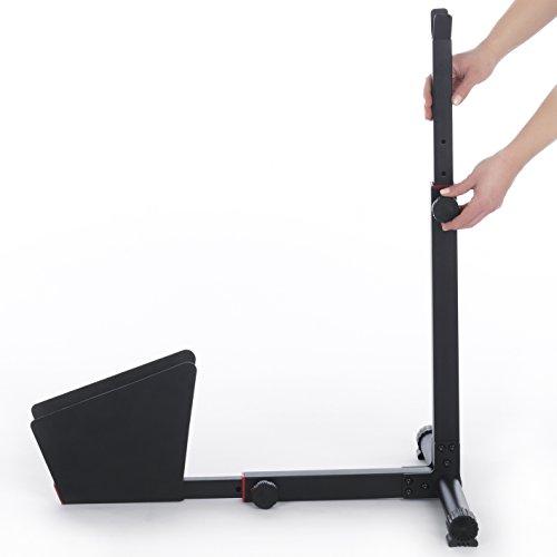 EASYmaxx Hinterradständer Fahrradständer für Wohnung und Keller aus Stahl - 3