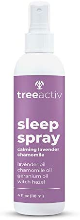 TreeActiv Sleep Spray Calming Lavender Chamomile Pillow and Sheet Spray with Fragrant Essential product image