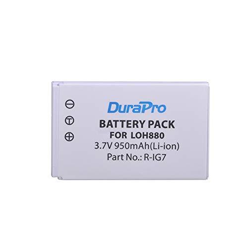 DuraPro R-IG7 Akku für Logitech Harmony One,720,720 Pro 785,850,880,880 Pro,885,890,890 Pro,H890,900,900 Pro Logitech Fernbedienung (950 mAh)