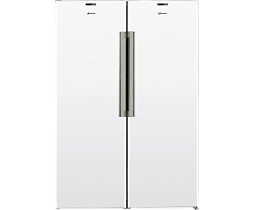 Bauknecht KGK 17G4 A2+ WS Side-by-Side Kühlschrank / A++ / 335 kWh/Jahr / 318 L Kühlen / 222 L Gefrieren / NoFrost nie wieder Abtauen / ProFresh / Soft Opening / LED-Licht / XXL-Box / Hygiene+ Filter