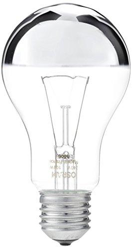 Osram Glühlampe, Spezial Kopfspiegellampe in silber, E27-Sockel, 100 Watt