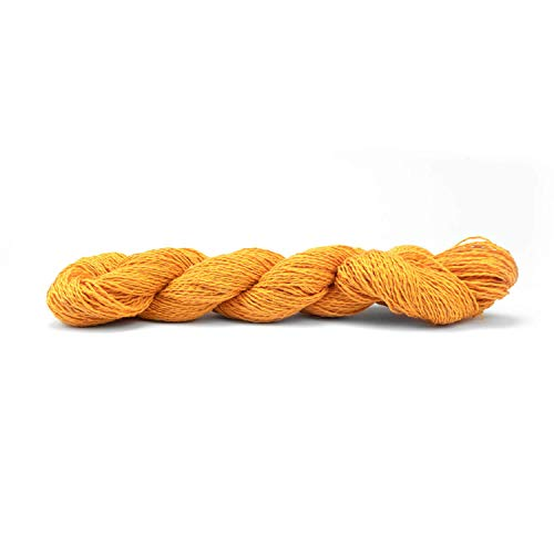 Pascuali Strickwolle Nepal, Vegan und für Wollallergiker, 180m/50g, Wolle Kumquat 14