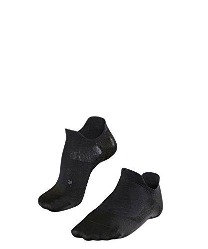 FALKE Herren, GO5 Invisible Golfsocken unsichtbare Socken zum Golfen - Funktionsfaser, Schwarz, 39-41, 1er Pack