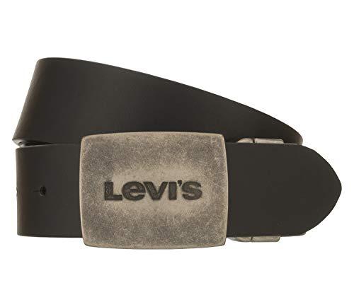 Levi's Reversible Levis Plaque Bekleidung Accessoires Hommes Schwarz - 100 - Gürtel