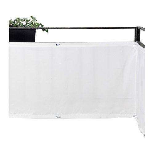 Ikea DYNING - Wind- / Sonnenschutzdach, weiß - 250x80 cm