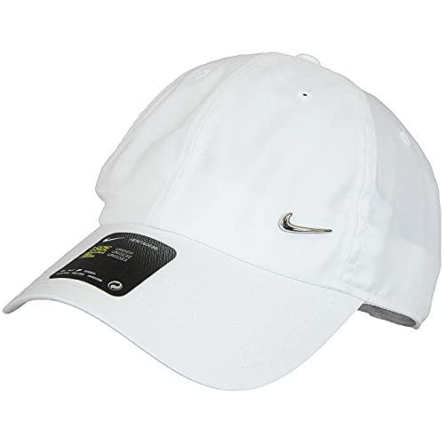 Nike Heritage 86 Metal Swoosh Cap (one Size, White, one_Size)