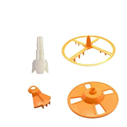 5 Pieces Replacement Parts Compatible w/Baby Brezza Formula Pro Advanced FRP0046