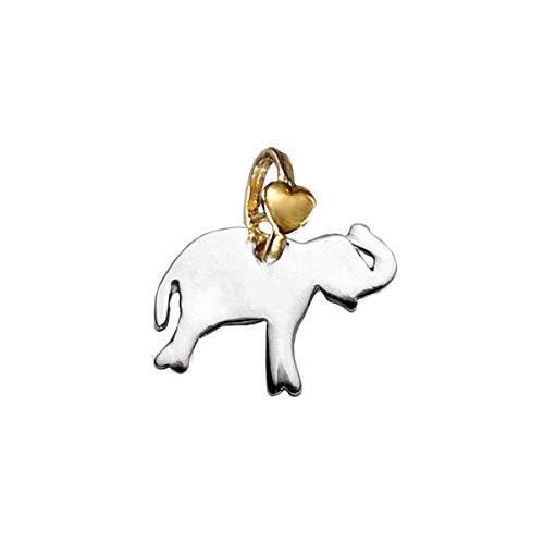 DODO Mariani Charm Silver Friends of the Heart ELEPHANT infinitely large A100K