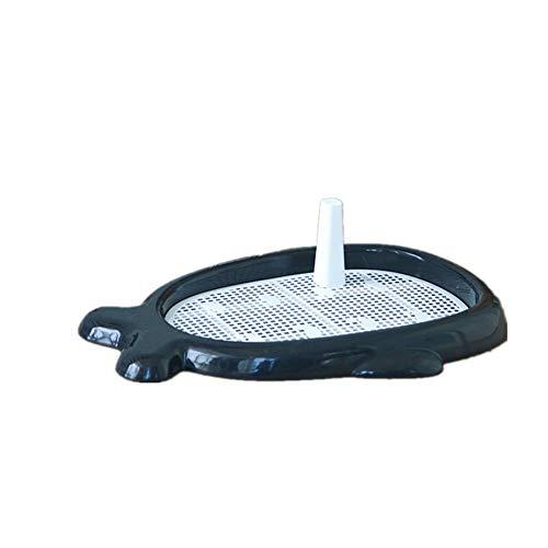 YAzNdom kattentoilet hondentraining pads toilet honden padhouder zeefschaal houden paws droog eenvoudige reiniging on pads kattenbakje met deksel