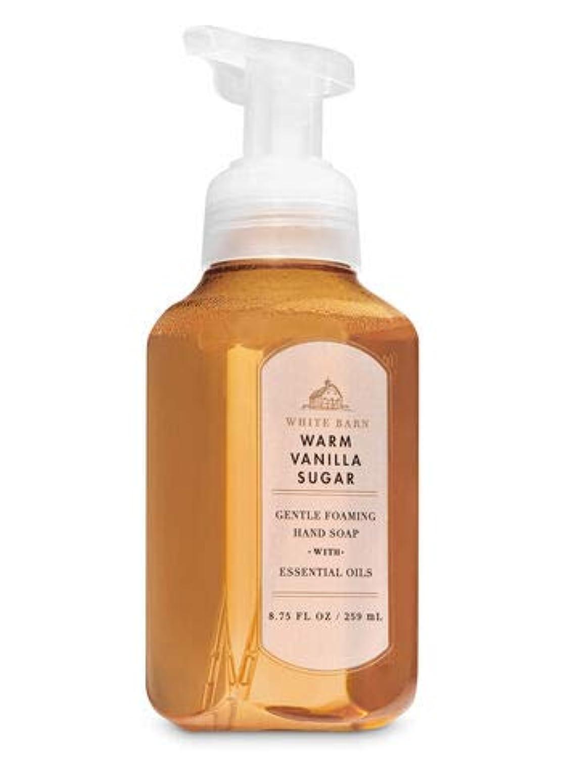 心理的に手順海里バス&ボディワークス ウォームバニラシュガー ジェントル フォーミング ハンドソープ Warm Vanilla Sugar Gentle Foaming Hand Soap [並行輸入品]