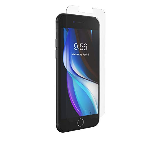 ZAGG InvisibleShield Glass Elite Anti-Glare Plus - Made for Apple iPhone SE2 (2020) - Case Friendly, Clear (200105451)