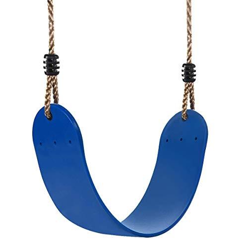 DSAEFG Schommelstoel elastische kinderschommel, weerbestendig, flexibel voor speciale schommel Comfort (blauw)