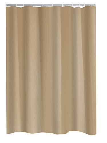 RIDDER Duschvorhang Textil Madison inkl. Ringe beige 120x200 cm