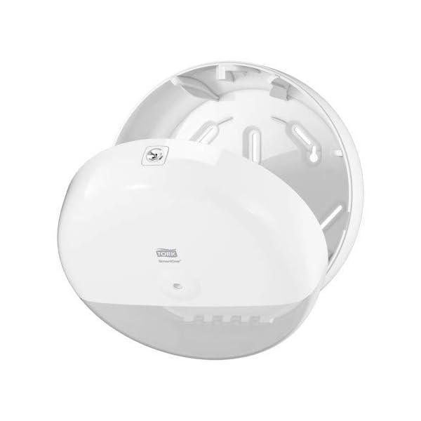 Tork SmartOne 680000 – Dispensador de papel higiénico, color blanco