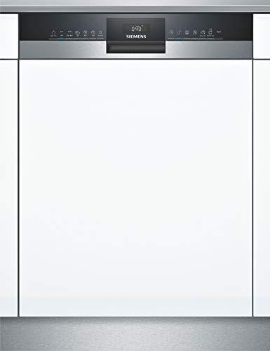 Siemens SX53HS60CE iQ300 Teilintegrierter Geschirrspüler / D / 85 kWh / 14 MGD / Smart Home kompatibel via Home Connect / varioSpeed Plus / varioSchublade
