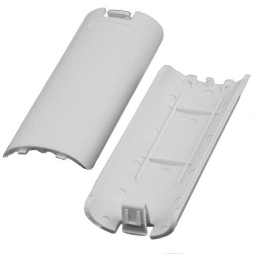 2X Akku Batterie Deckel Cover Batterieabdeckung für Nintendo Wii Controller